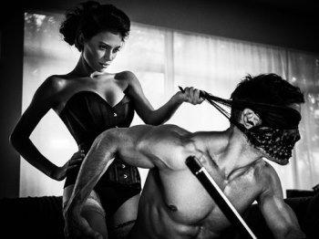 Во время секса мужчина раб