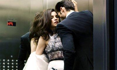 секс в лифте