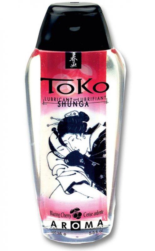 Съедобный лубрикант Toko Aroma Blazing Cherry (Shunga Erotic Art, Канада)
