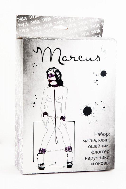 Кружевной набор из 6 предметов TOYFA Marcus – пурпурный
