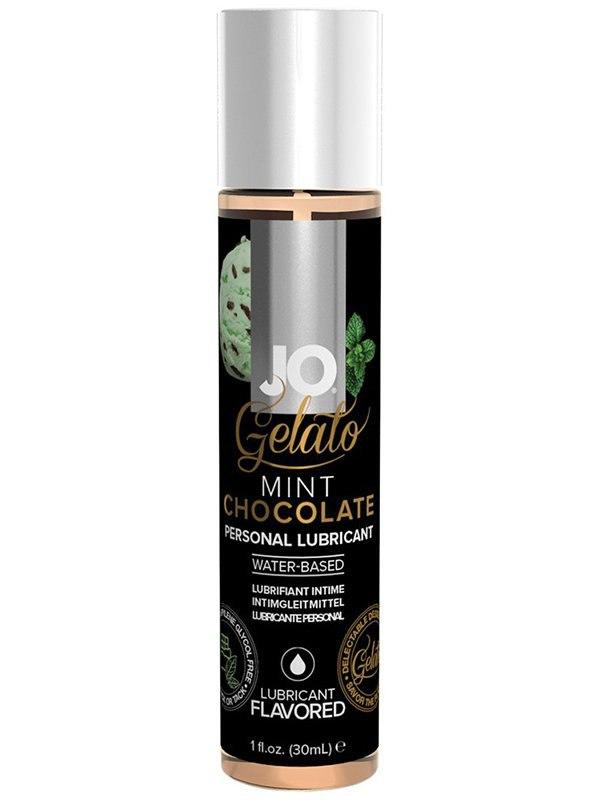 цена на Интимная смазка на водной основе с ароматом мятного шоколада JO Gelato Mint Chocolate – 30 мл