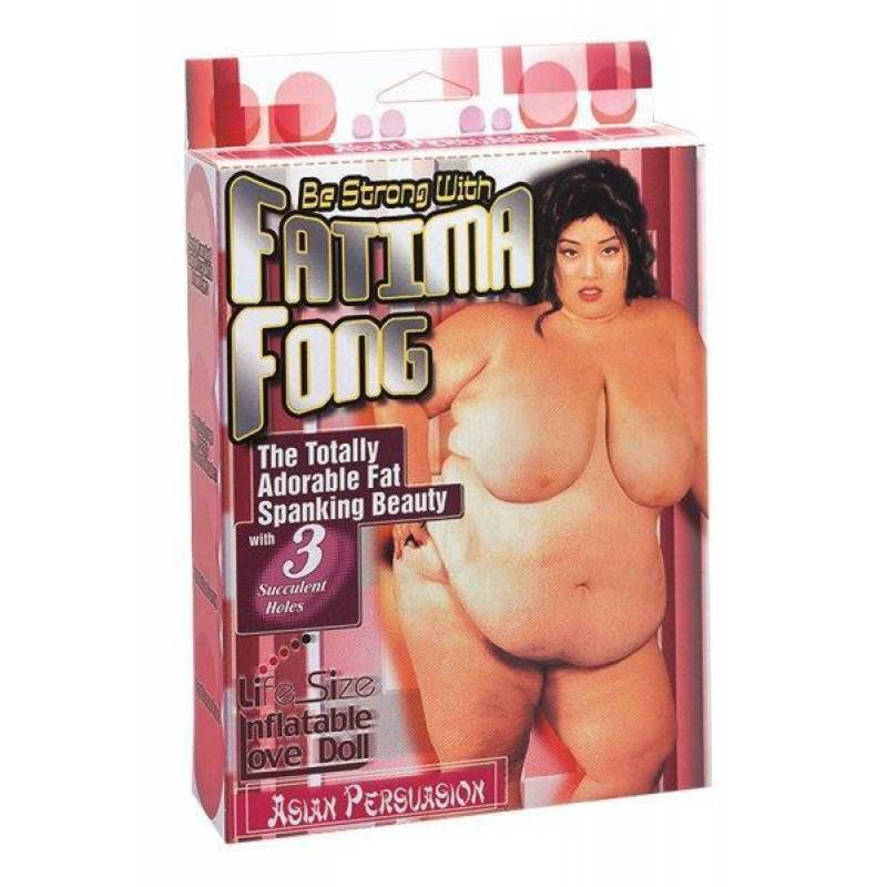 Надувная секс-кукла Fatima Fong - телесный