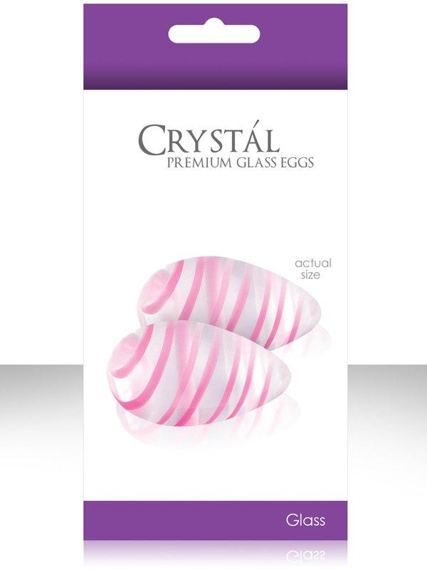 Вагинальные шарики из стекла Crystal Premium Glass - Clear от Он и Она