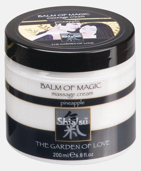 Массажный крем Shiatsu Balm Of Magic - ананас