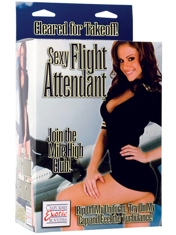 Эротическая надувная кукла Sexy Flight Attendant