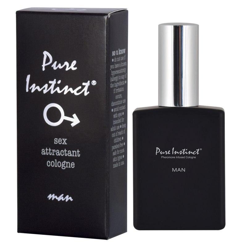 Профессиональные мужские духи с феромонами Pure Instinct man – 148 мл