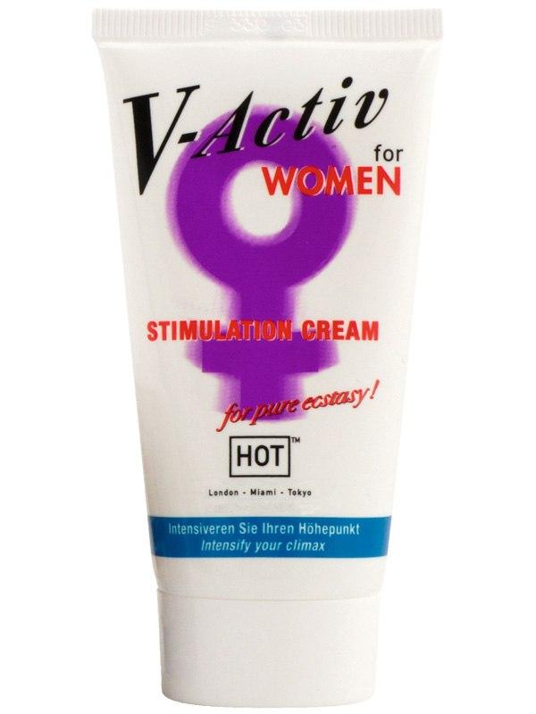 Стимулирующий крем Hot V-Activ для женщин - 50 мл
