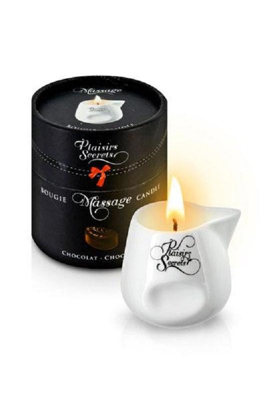 Свеча с массажным маслом Concorde Plaisirs Secrets Шоколад - 80 мл