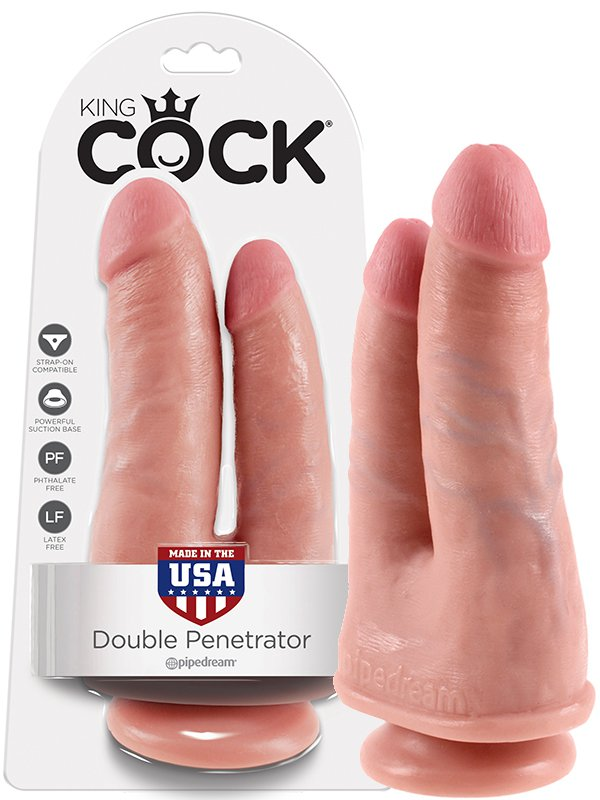 ������������� Cock-Double Penetrator ��� �������� ������������� � �������� (Pipedream, ���)