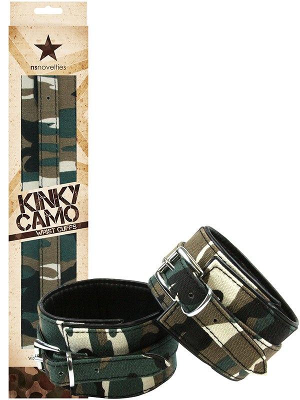 Наручники Kinky Camo Wrist Cuffs