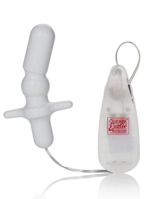 Анальный стимулятор Vibrating Anal T белый