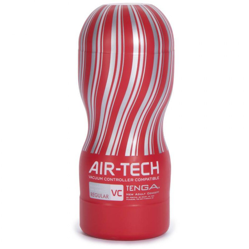 Многоразовый стимулятор Tenga Air-Tech Strong - красный