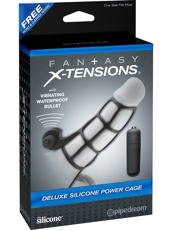 ������� ������������� Deluxe Silicone Power Cage � ��������� � ������ (Pipedream, ���)