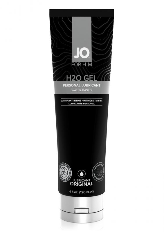 Лубрикант для мужчин JO H2O Gel на водной основе - 120 мл waname lubricant лубрикант waname neutral на водной основе 100 мл