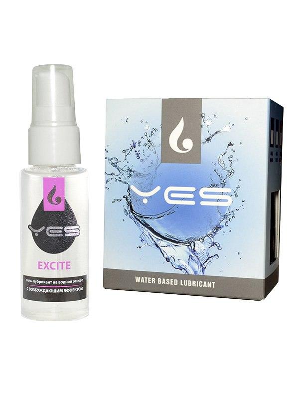 СК-Визит Возбуждающий гель-лубрикант на водной основе Yes Excite  30 мл