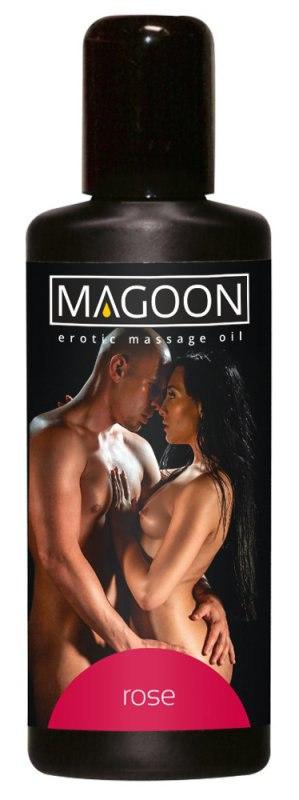 Масло массажное Magoon Rose с ароматом розы – 100 мл недорого