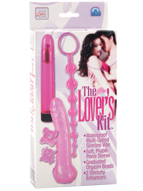 Водонепроницаемый набор стимуляторов The Lover's Kit
