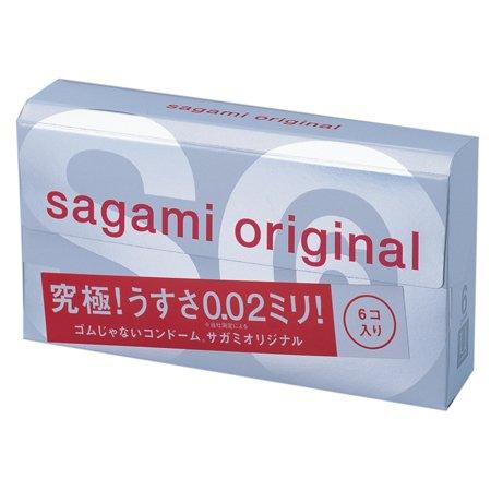 Презервативы Sagami Original 0,02 - 6 шт. (Sagami, Япония)
