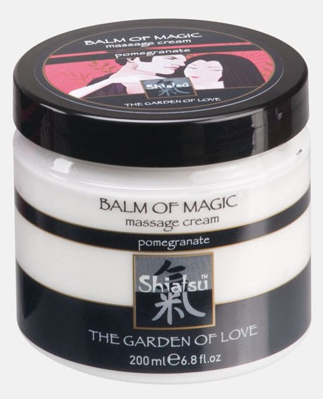 Массажный крем Shiatsu Balm Of Magic - гранат