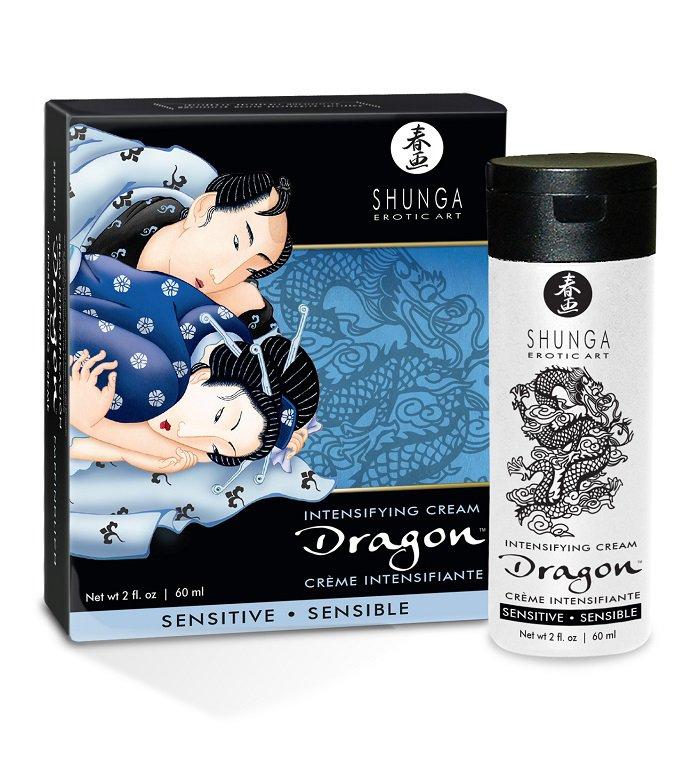 Интимный мужской крем Dragon Sensitive - 60 мл