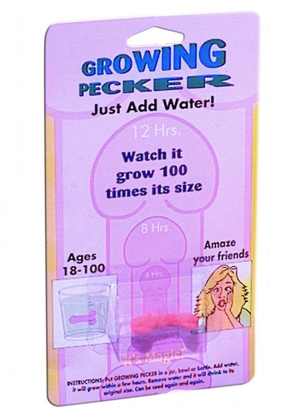 Растущий фаллос Grow-A-Pecker