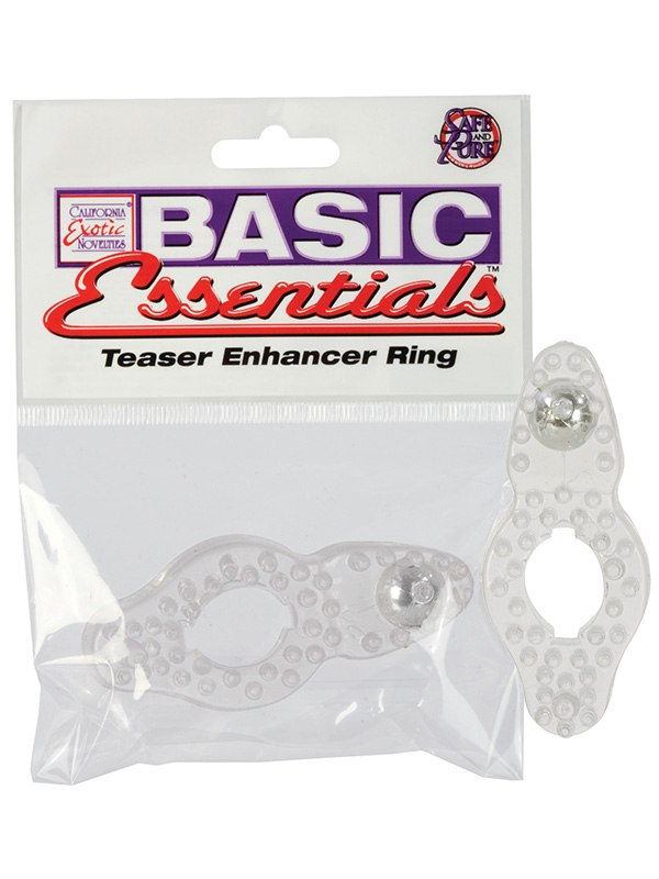 Эрекционное кольцо Basic Essentials - Teaser Enhancer Ring