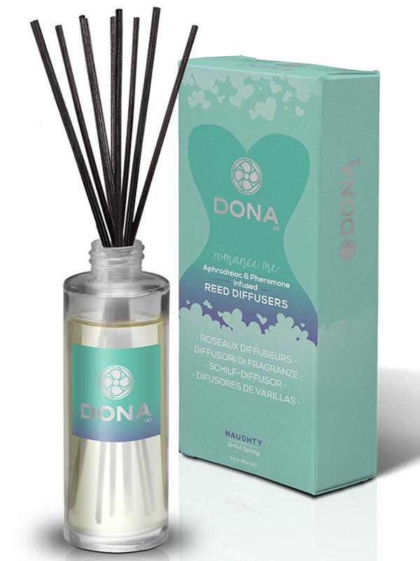 Ароматизатор воздуха Dona Romance Me Naughty с феромонами – весенний, 60 мл