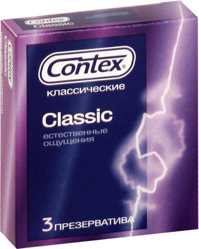 Презервативы Contex Classic - 3 шт.