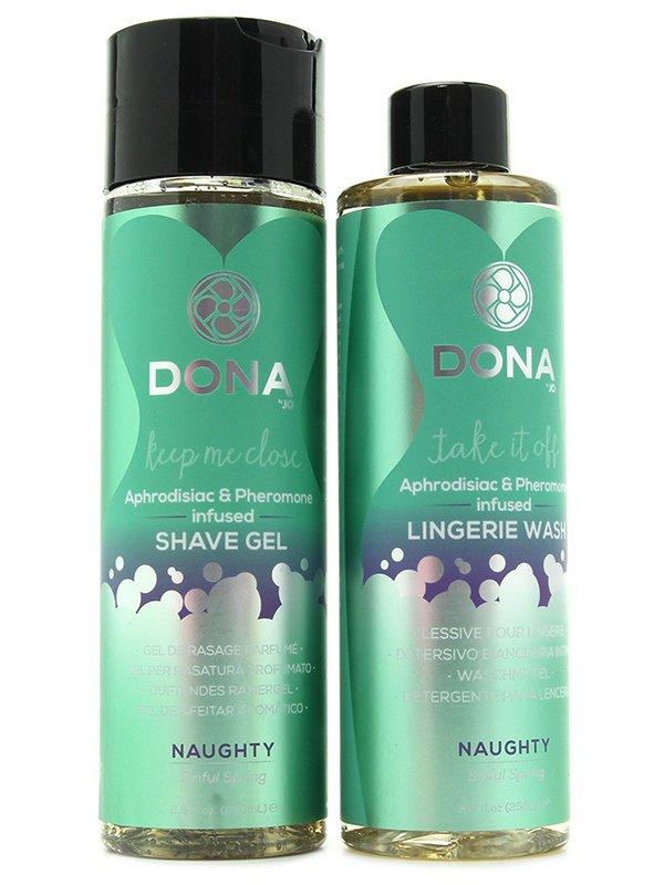 Подарочный набор Dona Be Sexy Naughty с феромонами – весенний от Он и Она