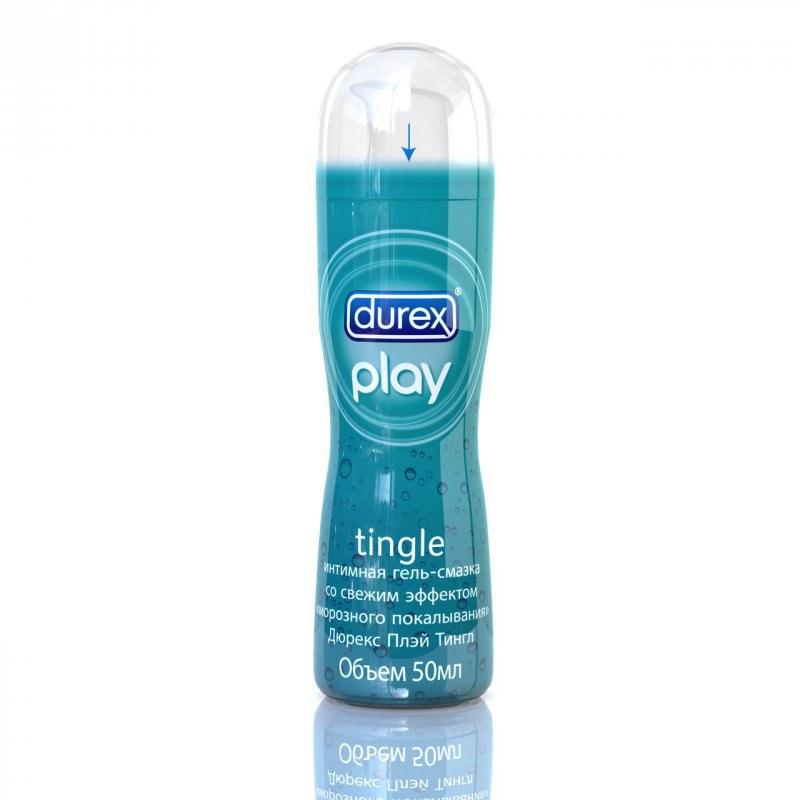 Гель-смазка Durex Play Tingle с эффектом морозного покалывания – 50 мл