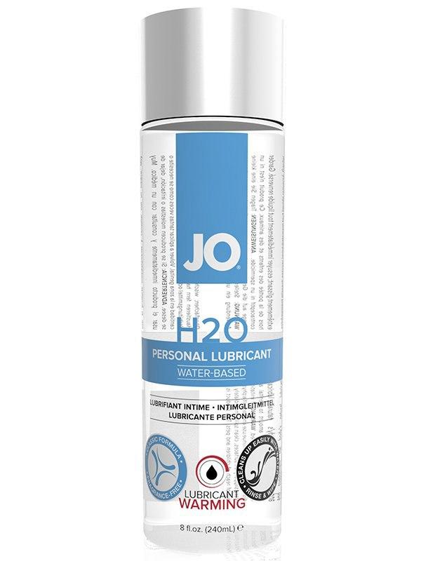 Возбуждающий лубрикант JO Personal H2O Warming  240 мл