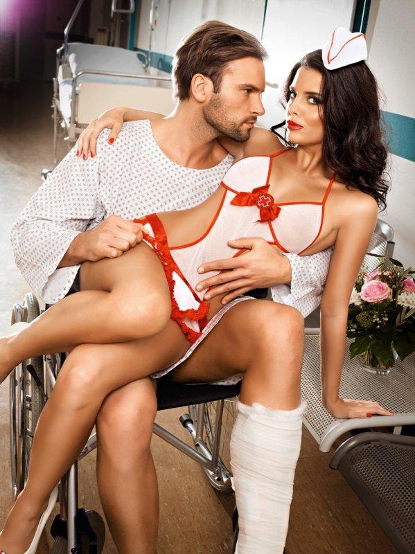 Эротический костюм Игривая Медсестра
