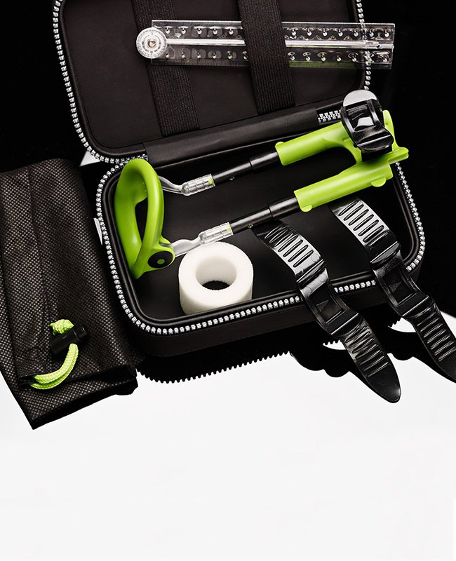 Расширенная комплектация набора для увеличения пениса Male Edge Extra  зеленый с черным