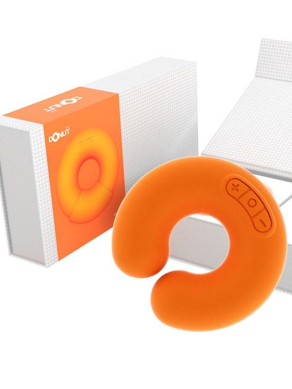 ZINI Универсальный дизайнерский стимулятор Donut - оранжевый