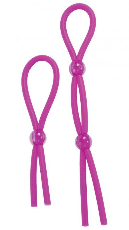Купить Набор Из Двух Лассо Cock Ties - Purple