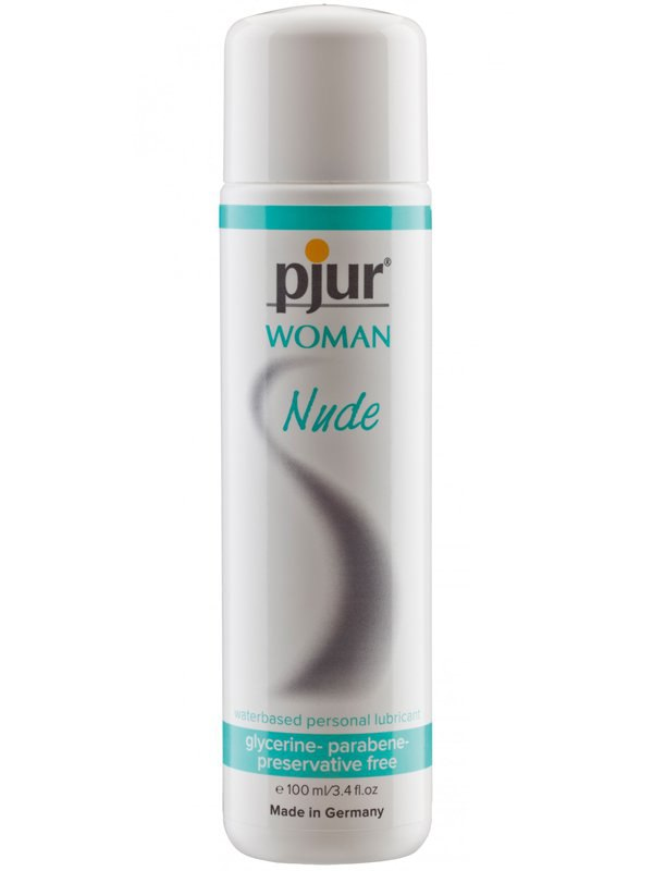 Лубрикант без добавок для чувствительной женской кожи Pjur Woman Nude на водной основе  100 мл