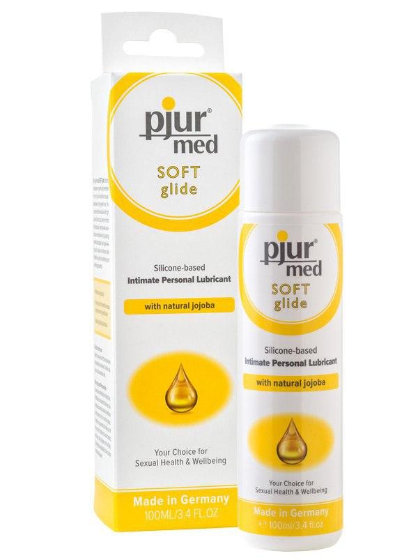 Силиконовый лубрикант с маслом жожоба Pjur® Med Soft Glide – 100 мл (Pjur®, Германия)