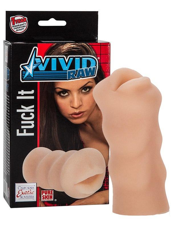 Мастурбатор ротик Vivid Raw Fuck It (Mouth) – телесный