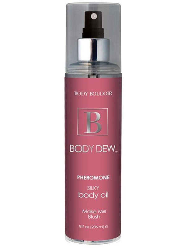 Увлажняющее масло для тела с феромонами Body Boudoir Make Me Blush – 236 мл