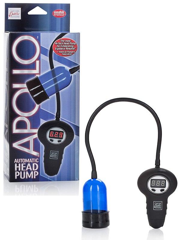 Помпа для головки Apollo Automatic Head Pump автоматическая – голубая