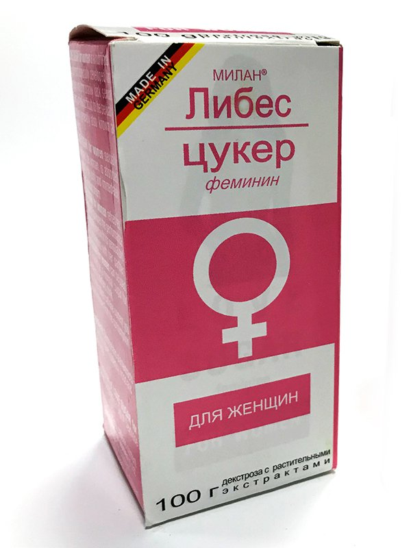 Биологически активная добавка к пище Liebes-Zucker feminin (Love Sugar) для женщин – 100 г