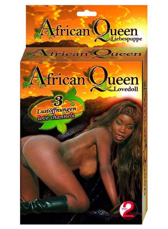 Надувная секс-кукла African Queen - мулатка