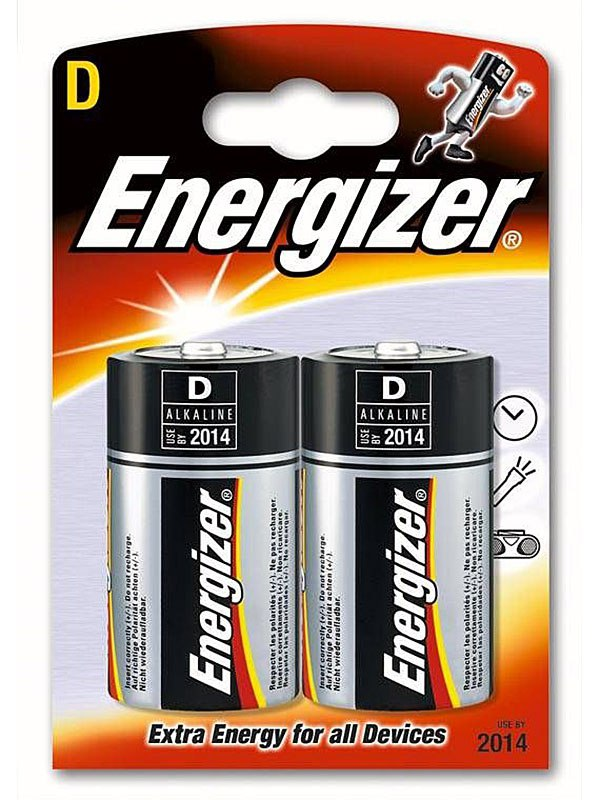 Алкалиновые батарейки Energizer C Base (PLUS) LR20/E95D - 2 шт.