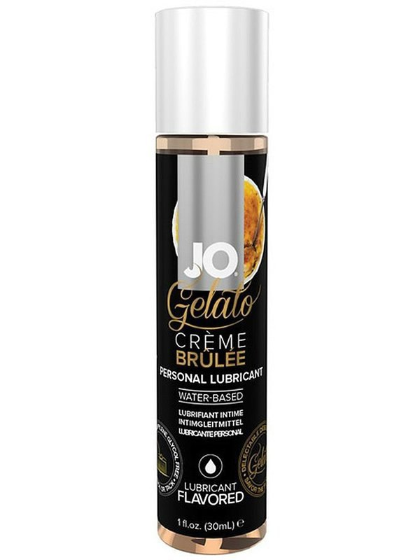 Лубрикант на водной основе с ароматом крем-брюле JO Gelato Creme Brulee – 30 мл