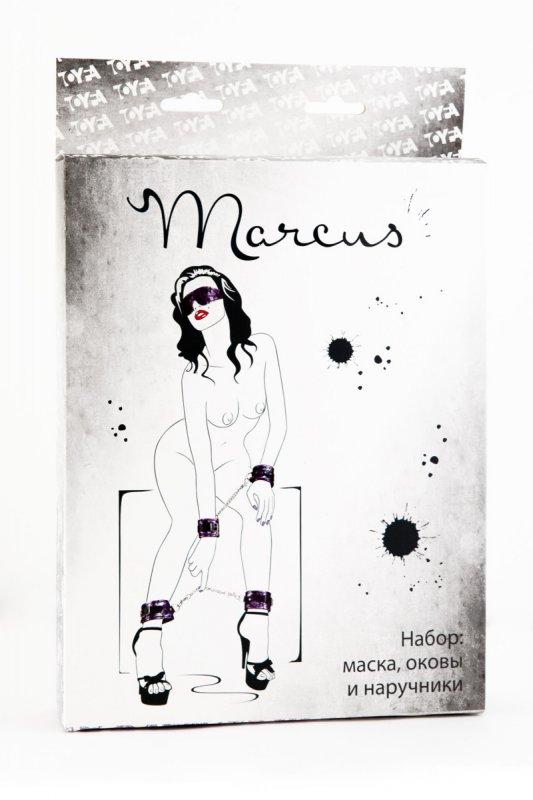 Кружевной набор из 3 предметов TOYFA Marcus – пурпурный
