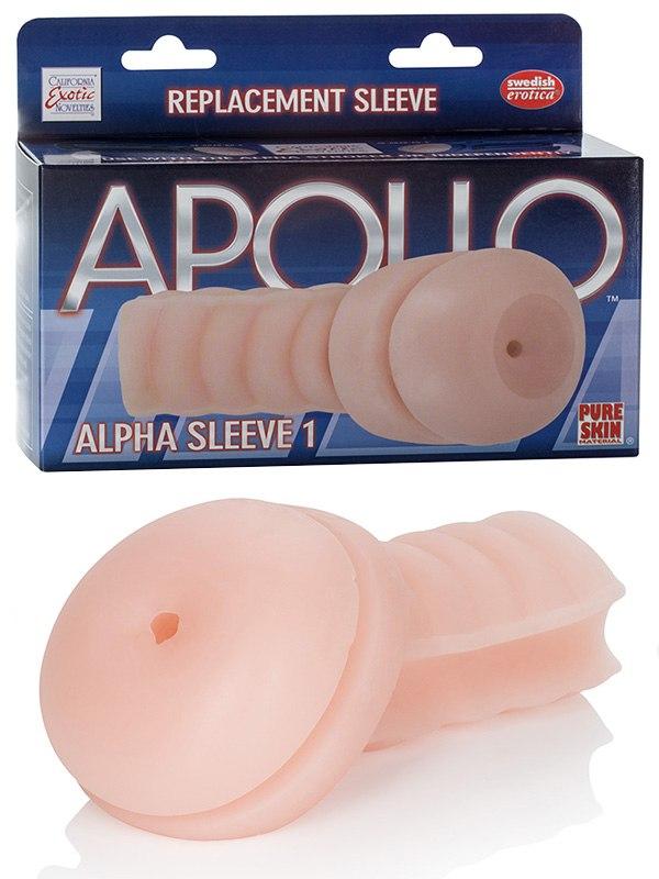 Мастурбатор анус вставка Alpha Sleeve 1  телесная