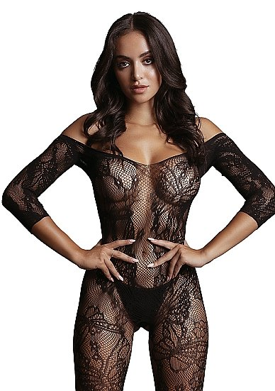 Кетсьюит (боди-комбинезон) Lace Sleeved Bodystocking