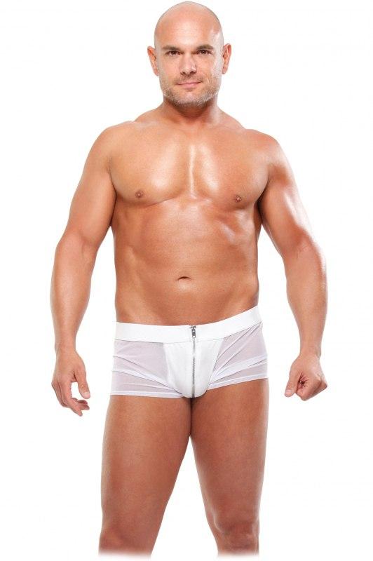 Трусы-боксеры на молнии White Hot - L/XL