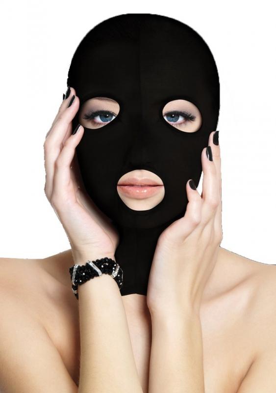 Маска на лицо из полиэстера Subversion Mask Black