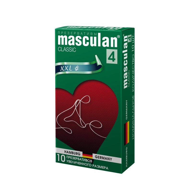 Презервативы Masculan 4 Classic увеличенного размера 10 шт